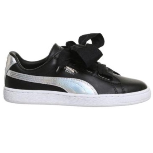 puma basket heart bebe